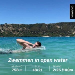 Open water swim